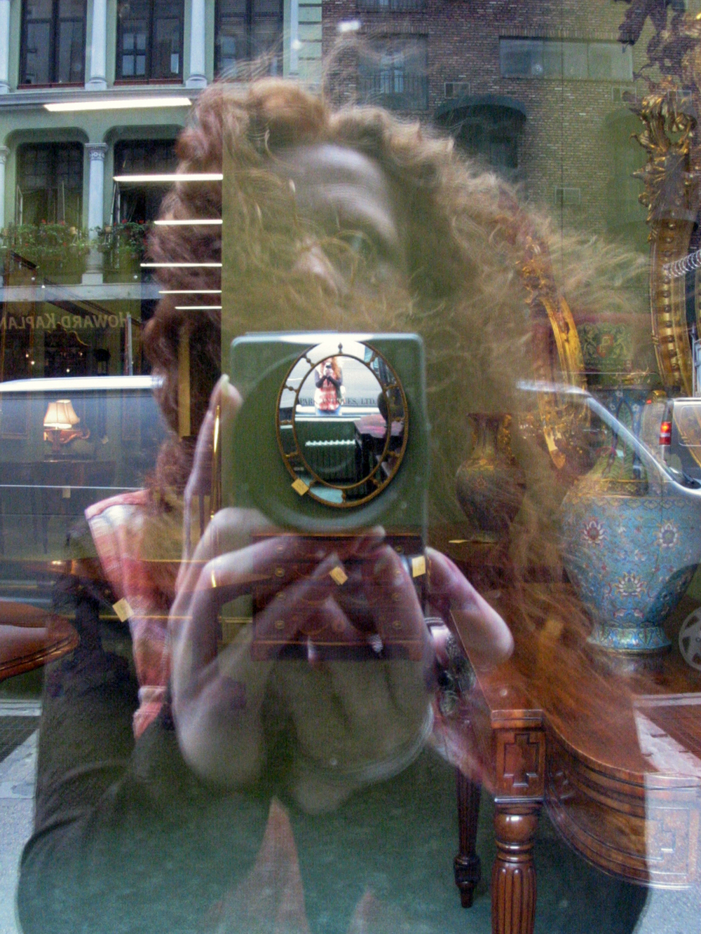 Self Portrait, Broadway, New York City