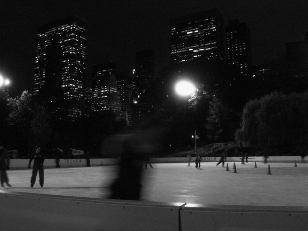 Skating Rink at Central Park, New York City
