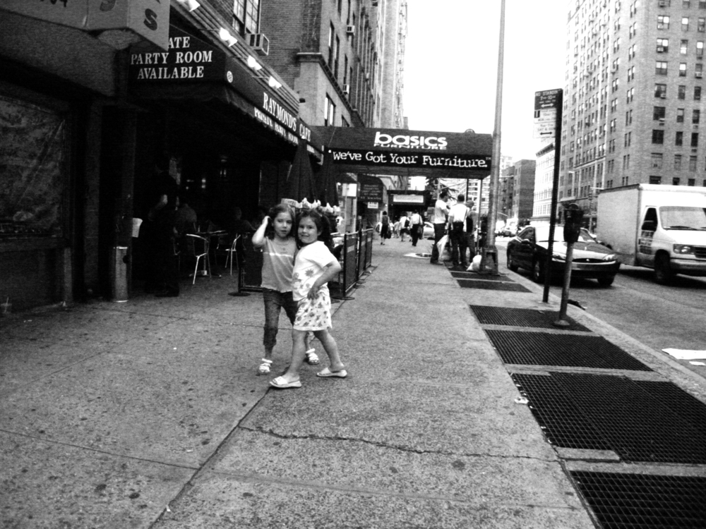 Two Girls, 7th Avenue, New York City