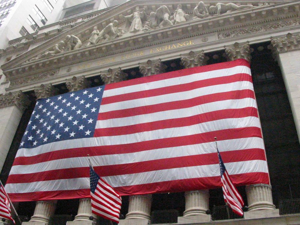 Biggest Flag Ever (NYSE), September 2001, New York, NY