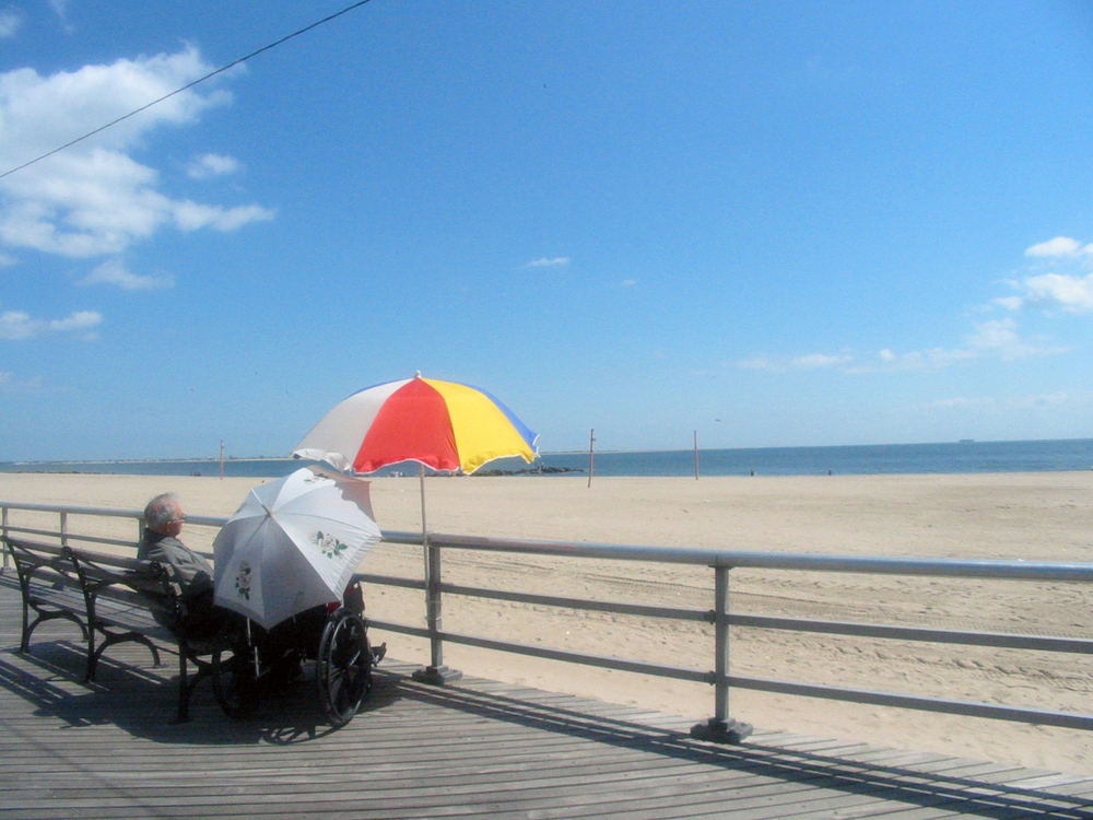 The Boardwalk, Brighton Beach, Brooklyn New York