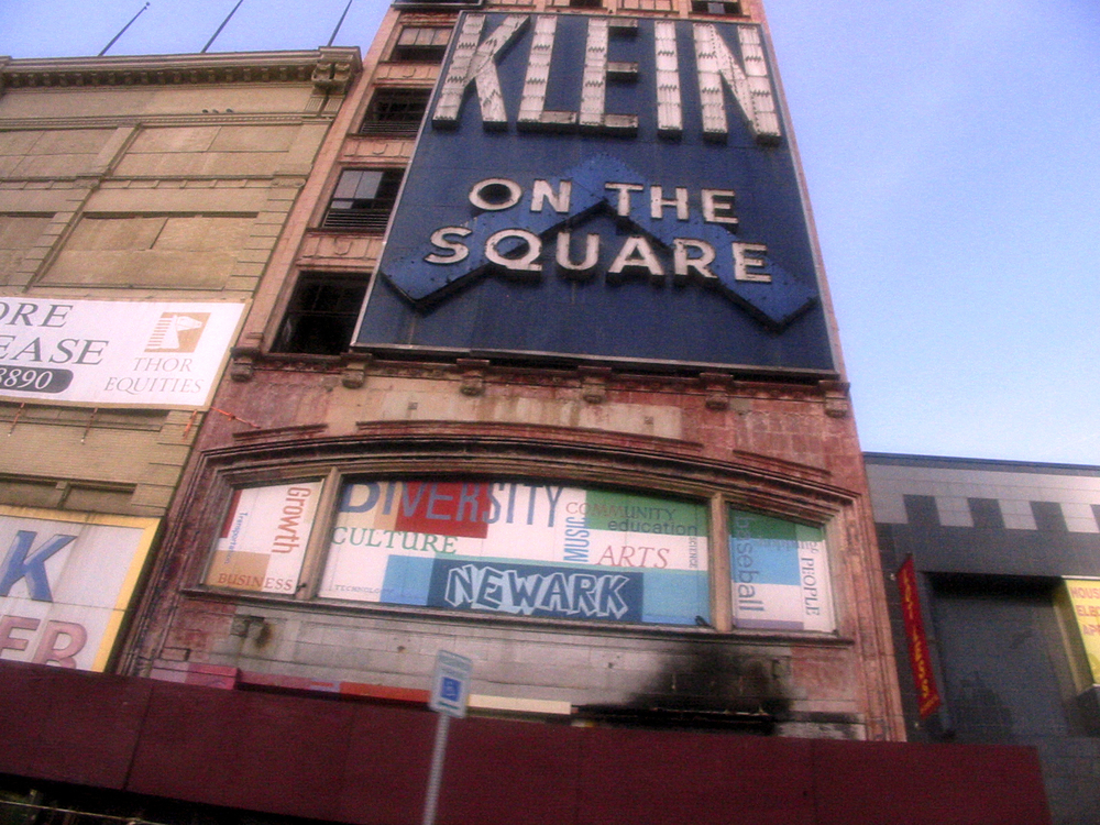 Klein on the Square, Broad Street, Newark New Jersey