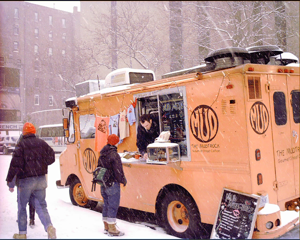 The MUD Truck, 4th Ave, New York City