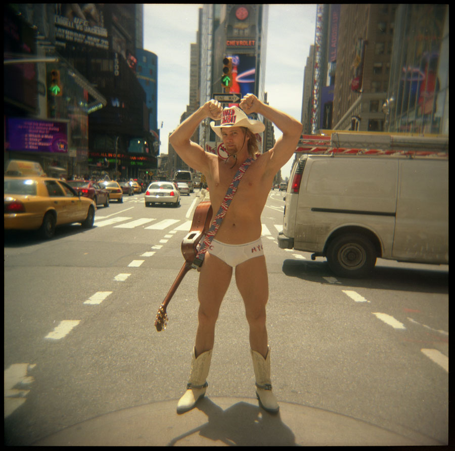 Naked Cowboy, Times Square, New York City