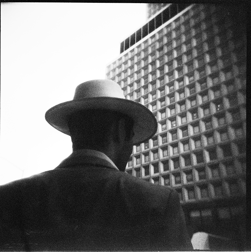 Man with Hat | Water Street, New York, NY