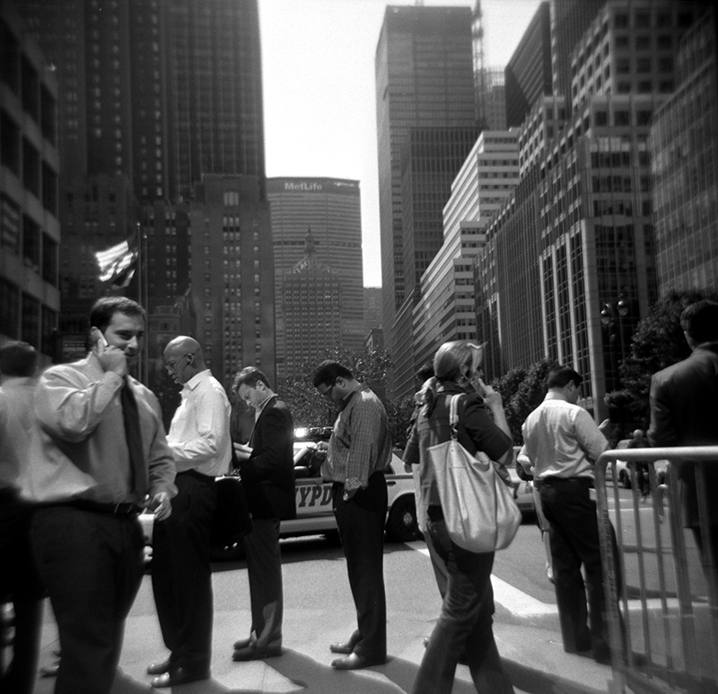 Lunch Line | Park Avenue, New York, NY