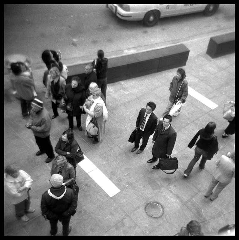 Lost Business Men | Times Square, New York, NY
