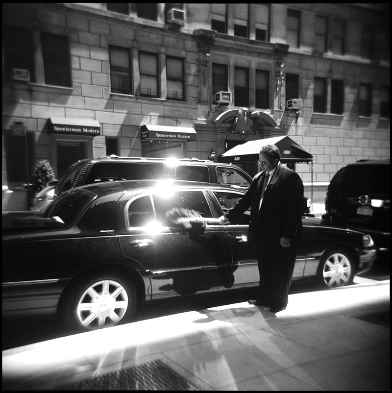 Dusting the Town Car | The Four Seasons, New York, NY