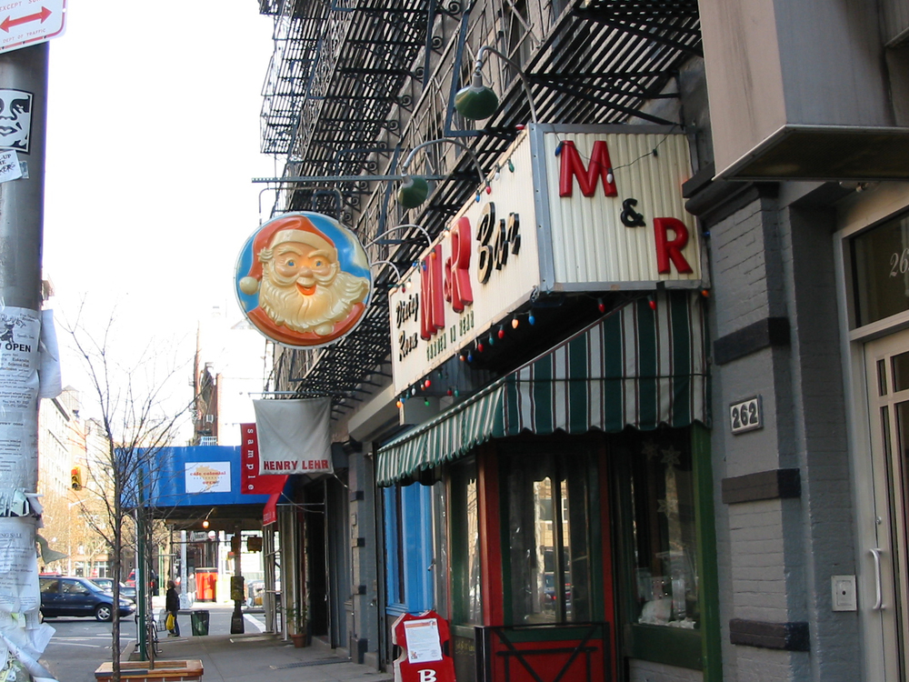 M&R Bar, 356 Bowery, New York City
