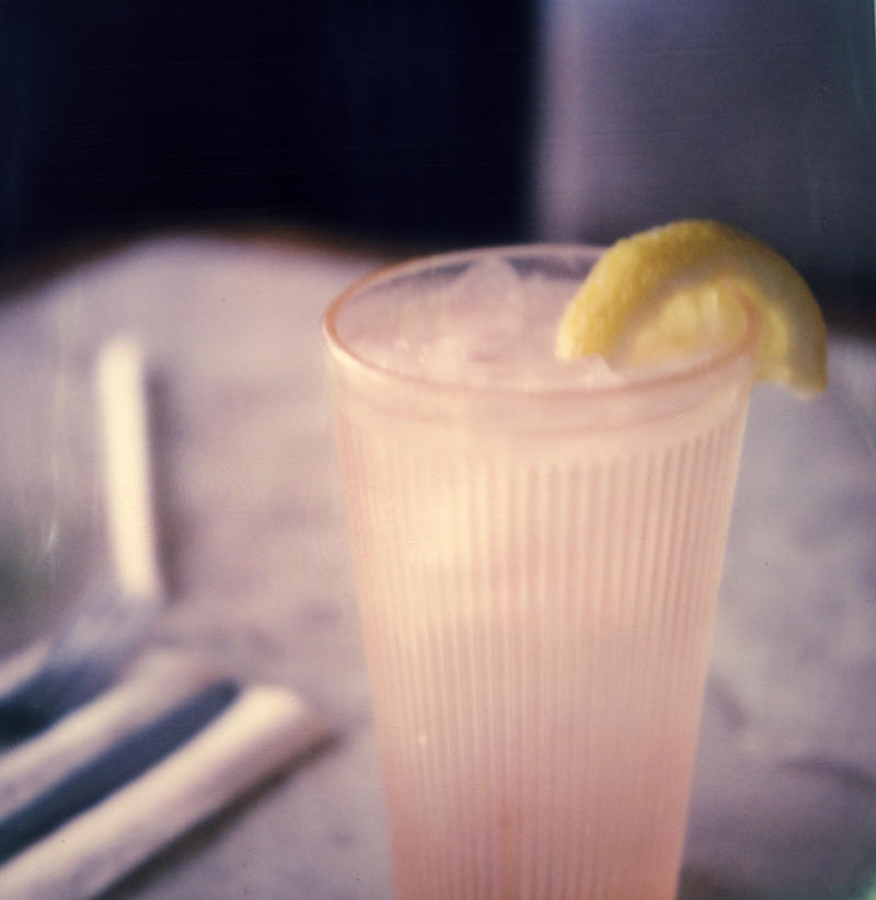 WATER WITH LEMON, AMBROSIA DINER, CATSKILL, NY