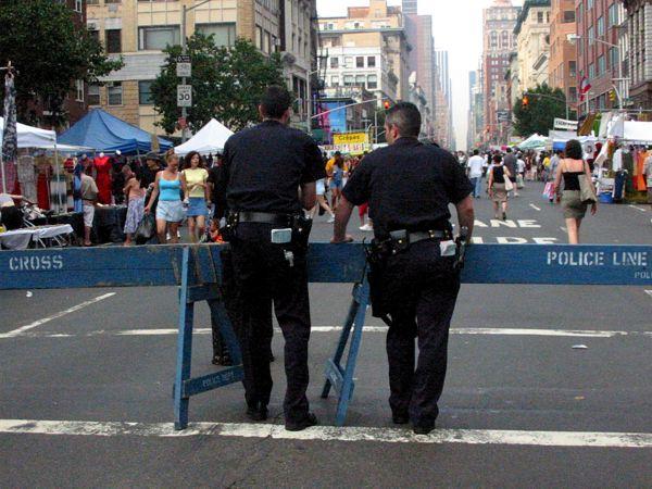 Authority: Police Line  Chelsea, New York City