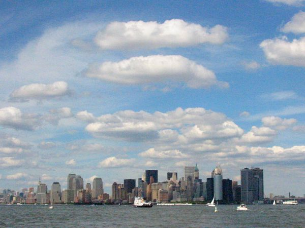 Scape: View of Lower Manhattan New York City