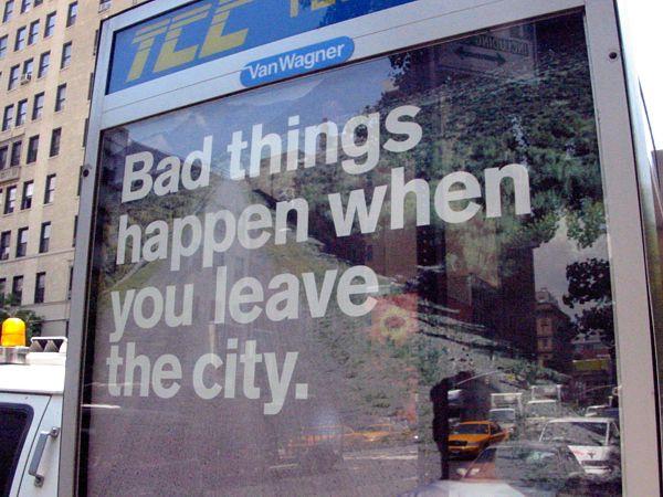 Signage: Belief System East Village, New York City