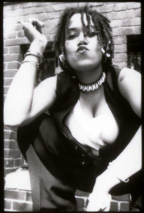 Christine | Outtake from shoot for Ibelle Magazine 1995 | near Logan Circle Washington DC