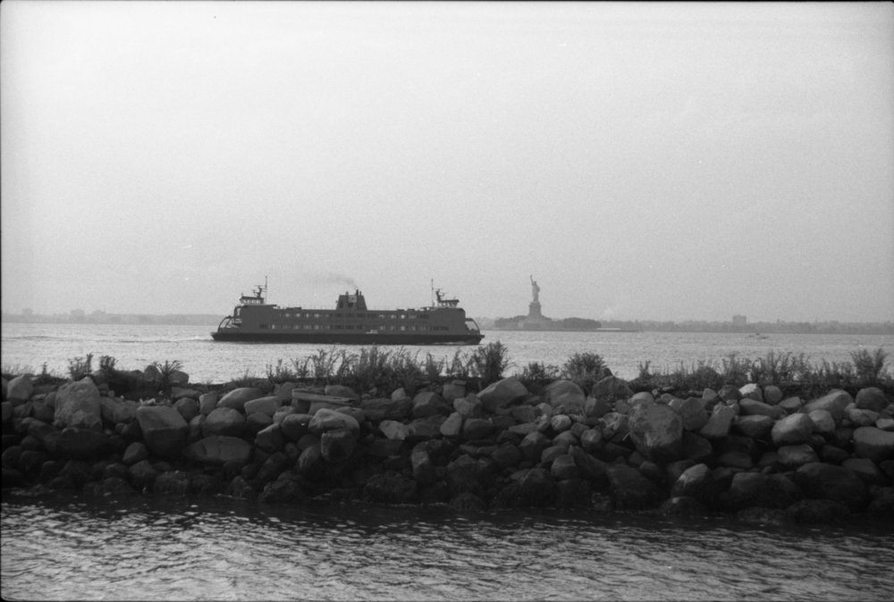 View of the Ferry | Red Hook Brooklyn NY