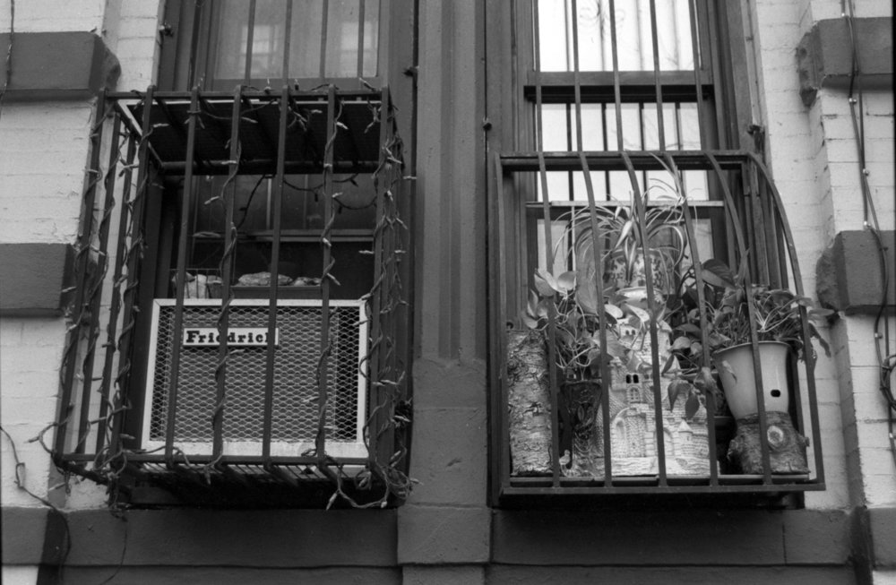 East Village Window, New York NY