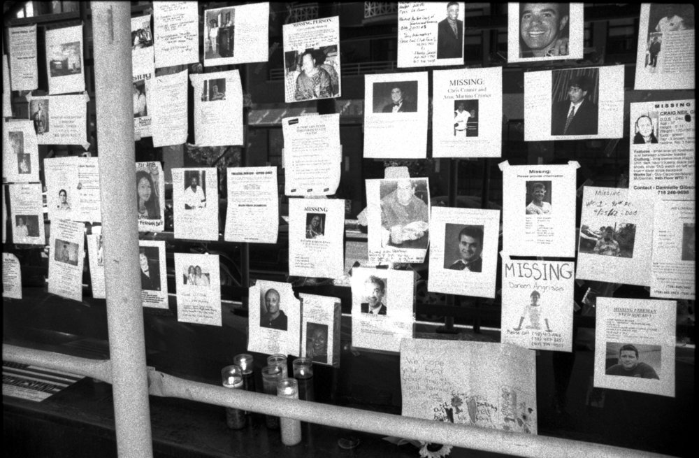 WTC Missing Flyers | Midtown, New York NY