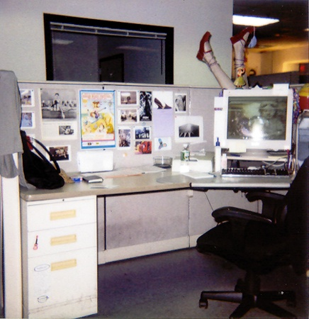 Desk@Work | The Village Voice, New York City