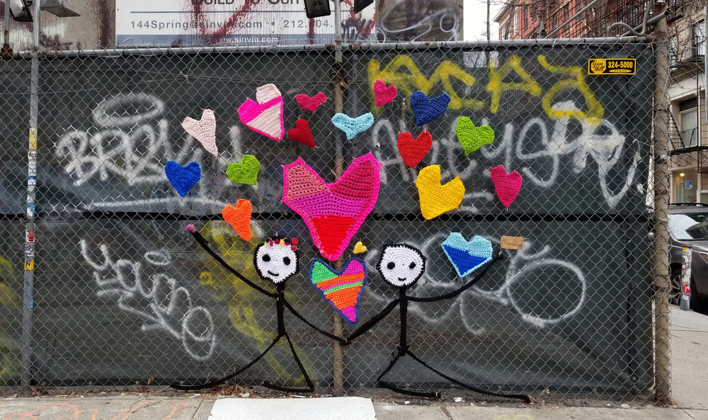 Yarn Bombing | Wooster Street, New York NY