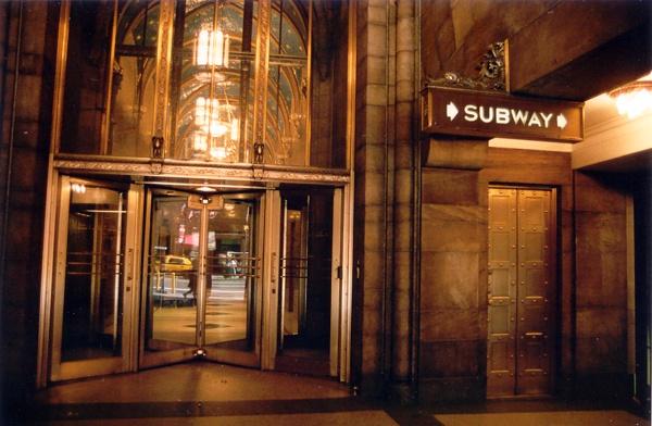 The Gold Subway | 42nd Street, New York NY