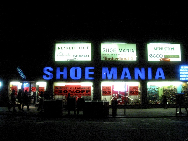 Shoe Mania | 14th & Broadway