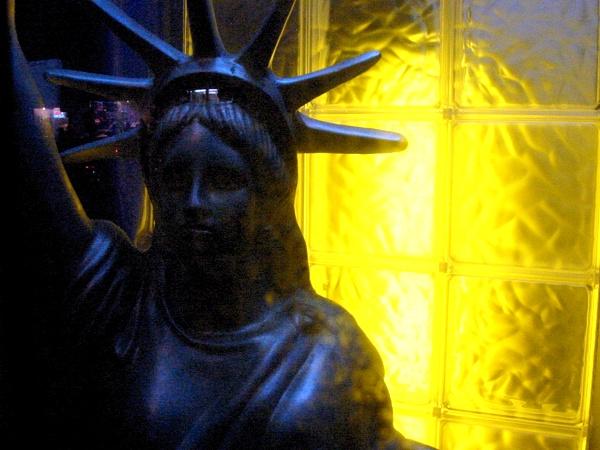 Plastic Lady Liberty | Chinatown