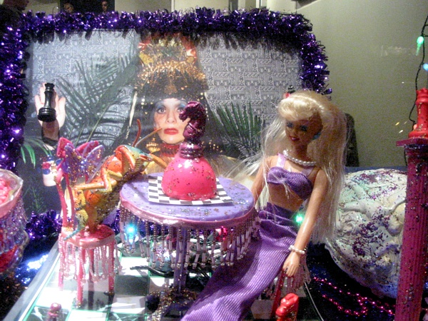Barbie Tea Party | West Village Coffee House Window