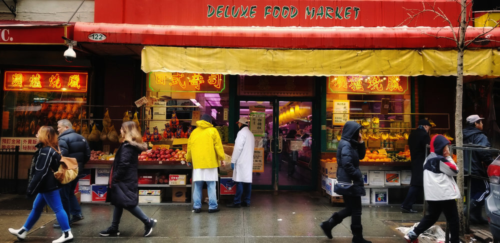 Deluxe Food Market   Elizabeth Street, New York NY
