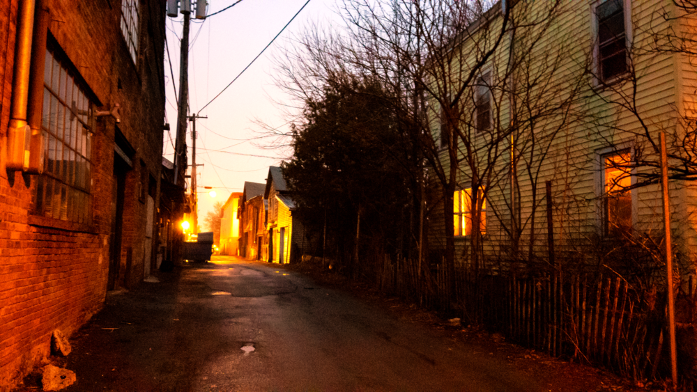 Prison Alley & 8th Street, Hudson NY