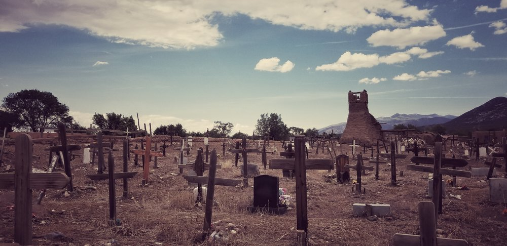 Taos Pueblo Cemetery   Taos, NM