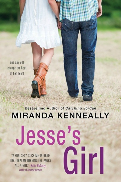 Title:  Jesse's Girl    Author:  Miranda Kenneally   Sale Date:  July 7th 2015   Age:  Young Adult   Genre:  Contemporary Romance   Pages:  304     Publisher:  Sourcebooks Fire   Source:  Publisher   Rating:  4 Stars. I liked it.   Buy:   Amazon    Add   to:     Goodreads