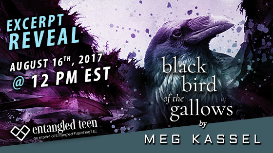 Excerpt Reveal & Giveaway: Black Bird Of The Gallows by Meg Kassel