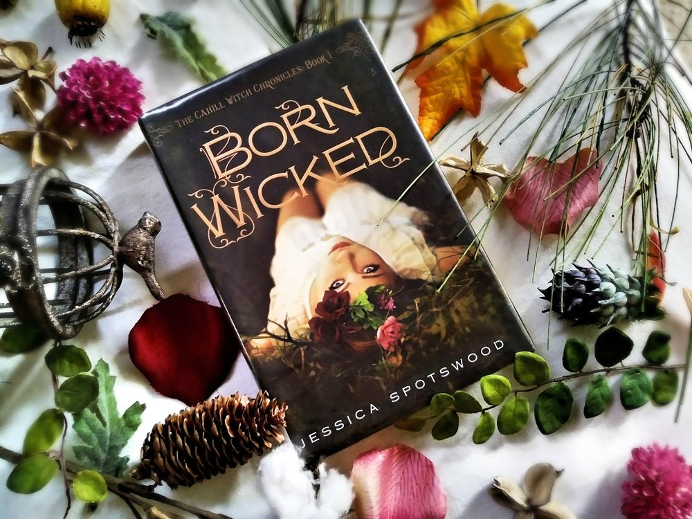 Photo and book review of Born Wicked by Jessica Spotswood by Book Swoon.
