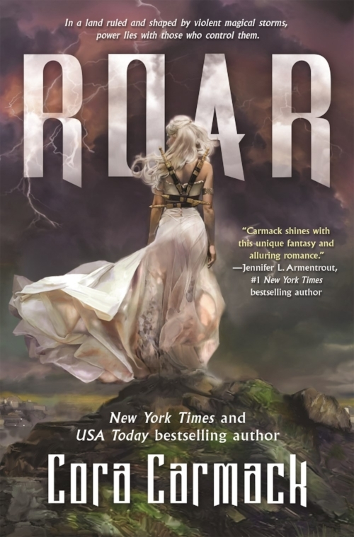 Roar by Cora Carmack Book Cover
