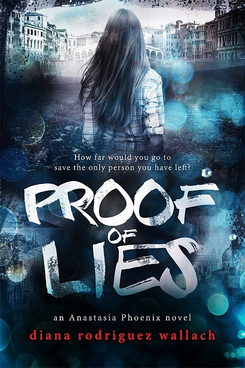 Proof of Lies by Diana Rodriguez Wallach Book Cover