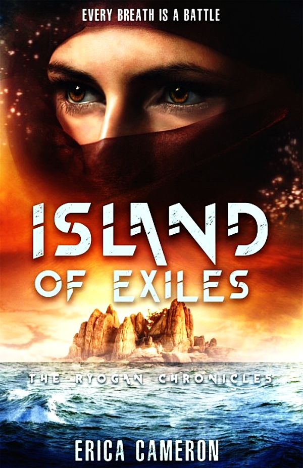 Island of Exiles by Erica Cameron Book Cover