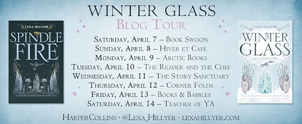 Winter Glass by Lexa Hillyer Blog Tour Graphic