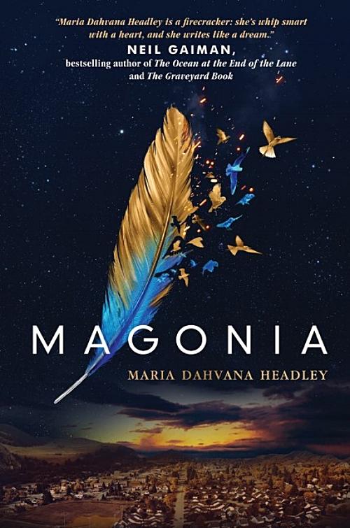 Magonia by Maria Dahvana Headley Book Cover
