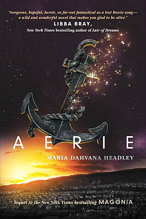Aerie by Maria Dahvana Headley Book Cover