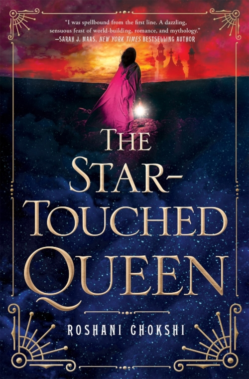The Star-Touched Queen byRoshani Chokshi Book Cover