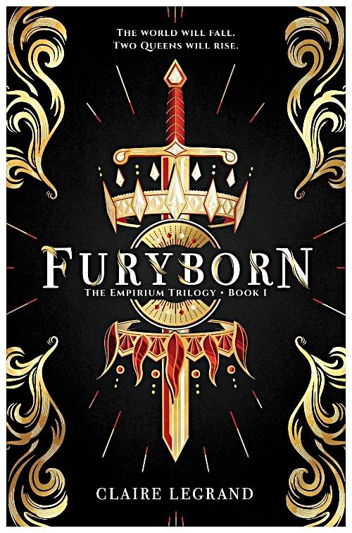 Furyborn by Claire Legrand Book Cover