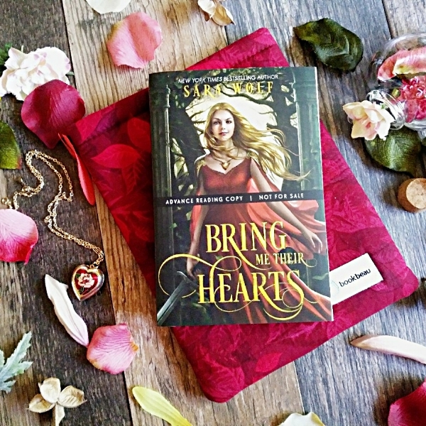Bring MeTheir Hearts by Sara Wolf Book Cover image taken by Book Swoon