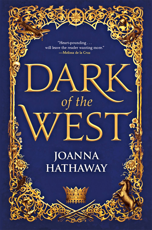 Dark of the West by Joanna Hathaway Book Cover