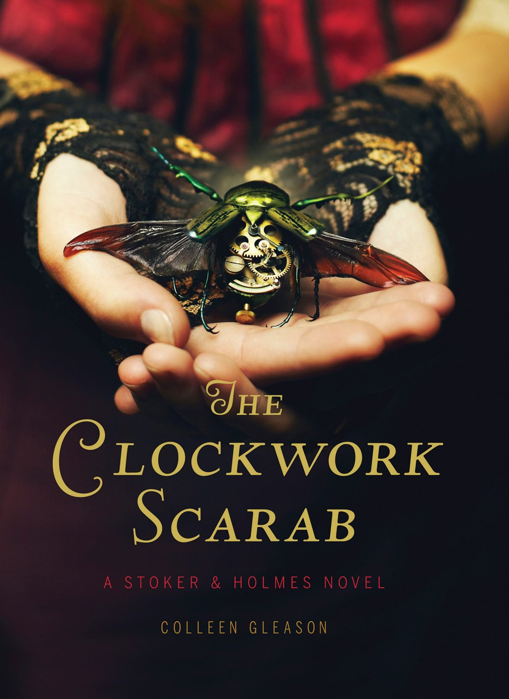 Image result for the clockwork scarab book cover
