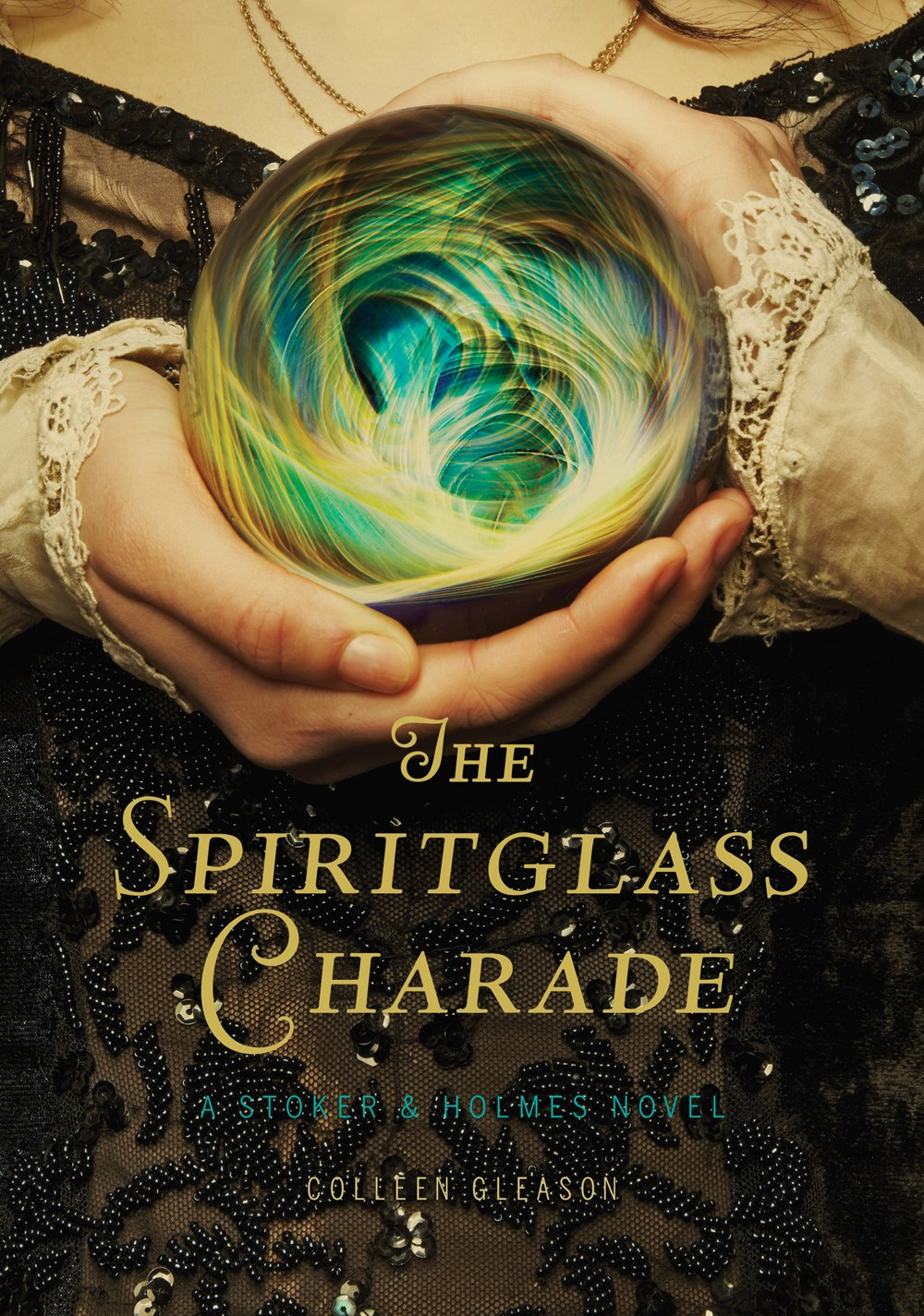 The Spiritglass Charade by Colleen Gleason Book Cover