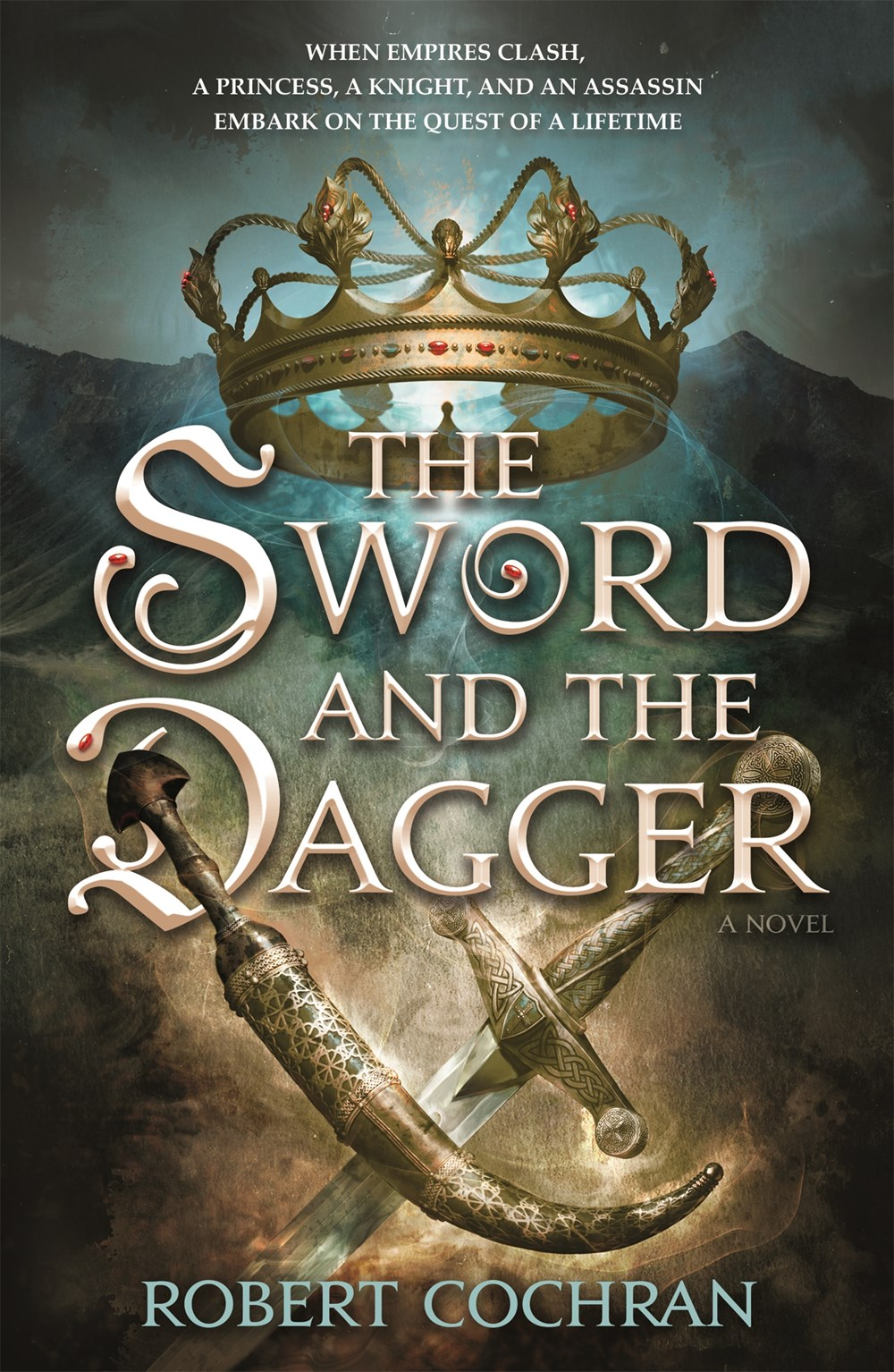 The Sword and the Dagger by Robert Cochran Book Cover