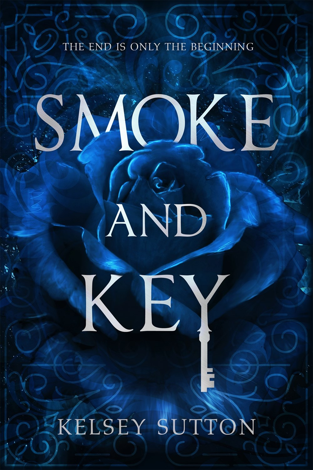 Smoke and Key.by Kelsey Sutton Book Cover