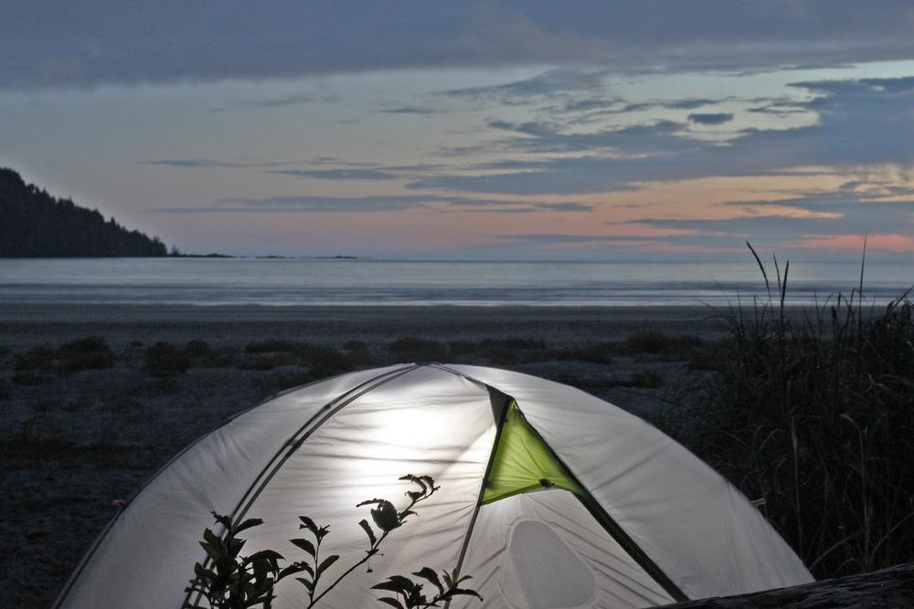 San Josef Bay Camping