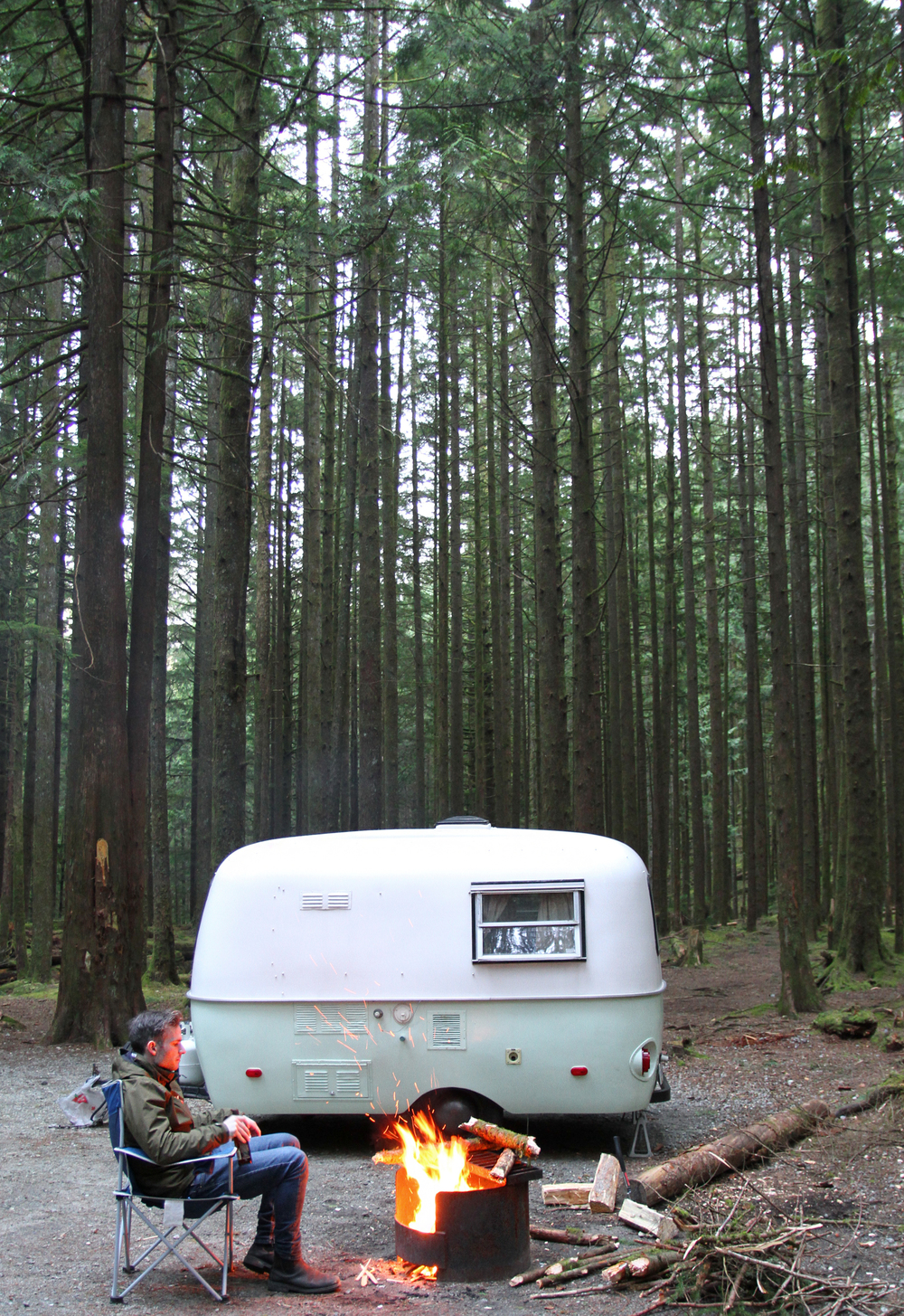 Boler Trailer Camping - Golden Ears Park
