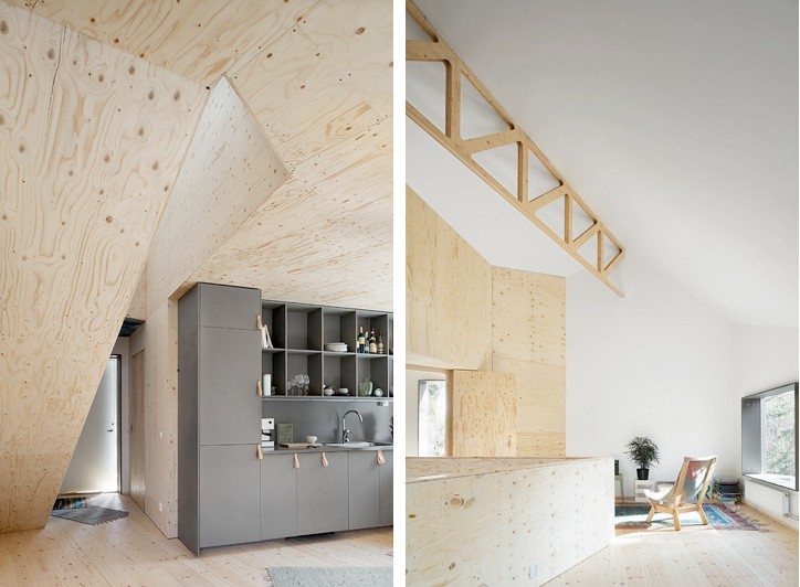 Plywood Home | Tommy Carlsson | Remodelista